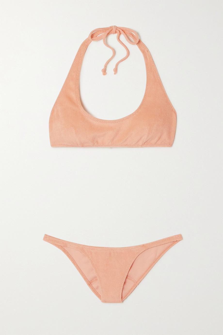 Lisa Marie Fernandez Bikini en molleton de coton mélangé Amber - NET SUSTAIN
