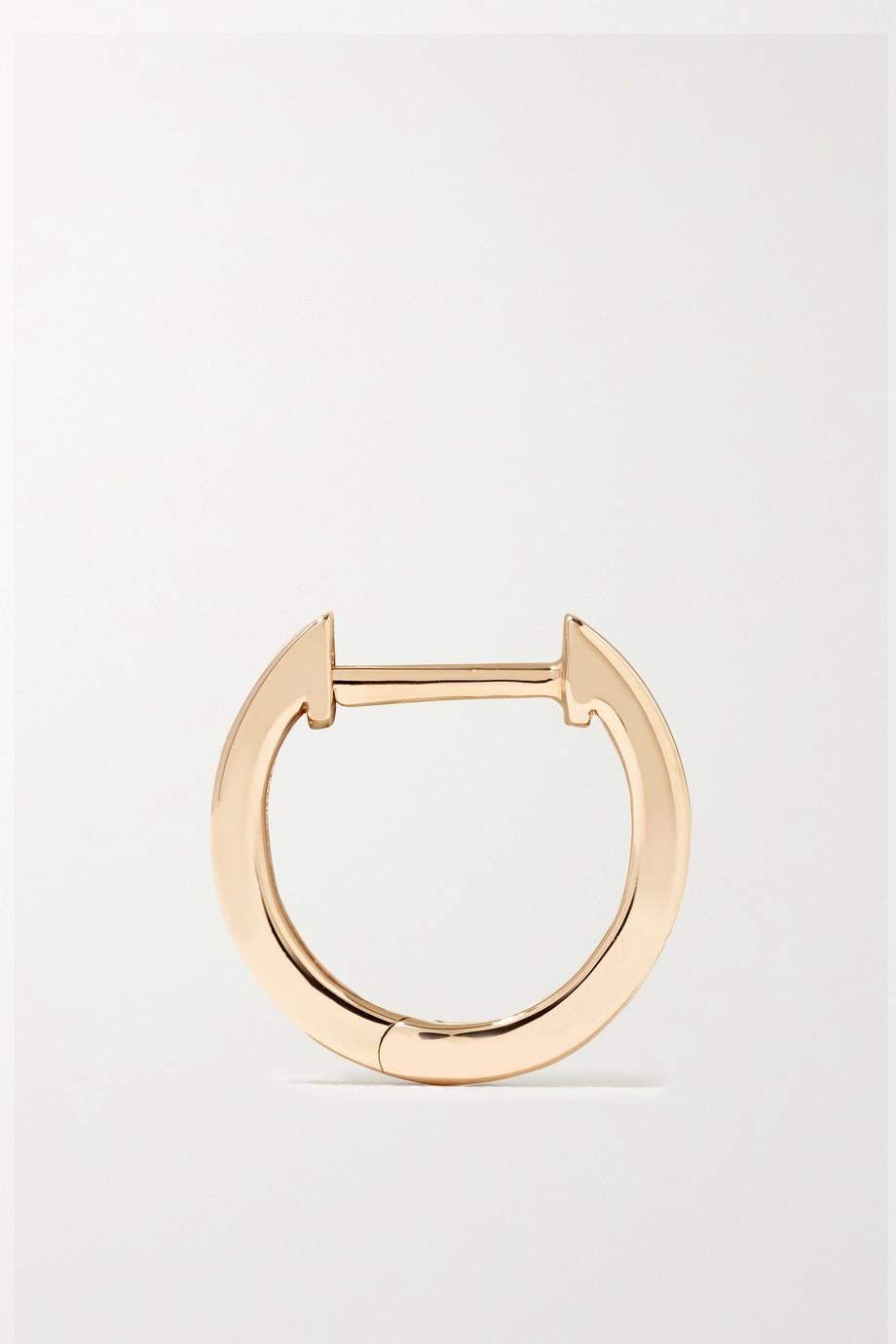 Anita Ko Huggies 18-karat rose gold hoop earrings