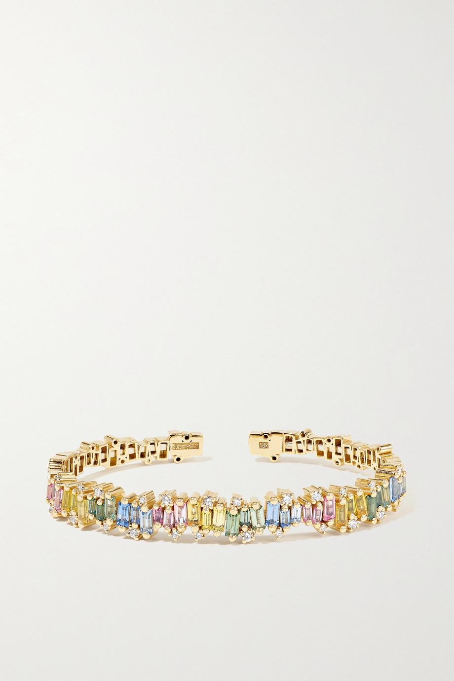Suzanne Kalan Bracelet en or 18 carats (750/1000), saphirs et diamants