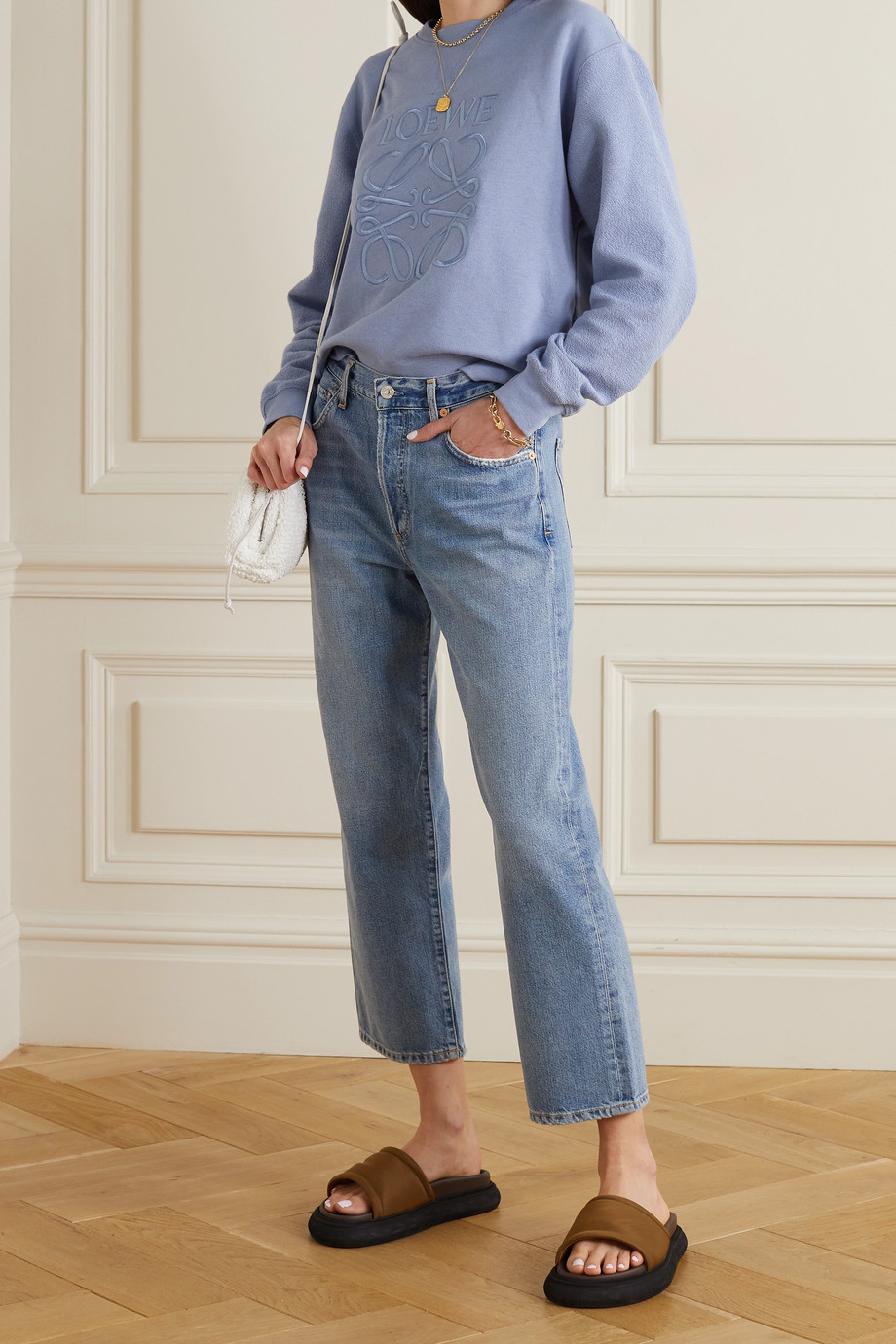 Citizens of Humanity Emery high-rise straight-leg jeans