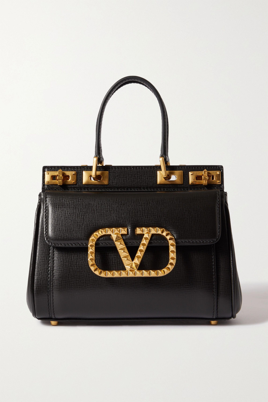 Valentino Sac à main en cuir texturé Alcove Mini Valentino Garavani