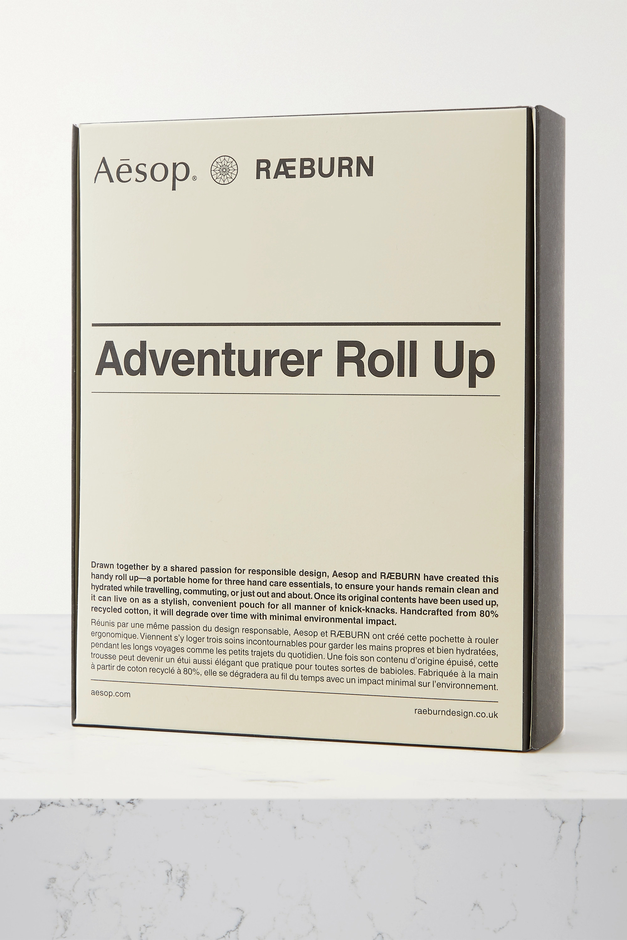 Aesop + RAEBURN Adventurer Roll Up