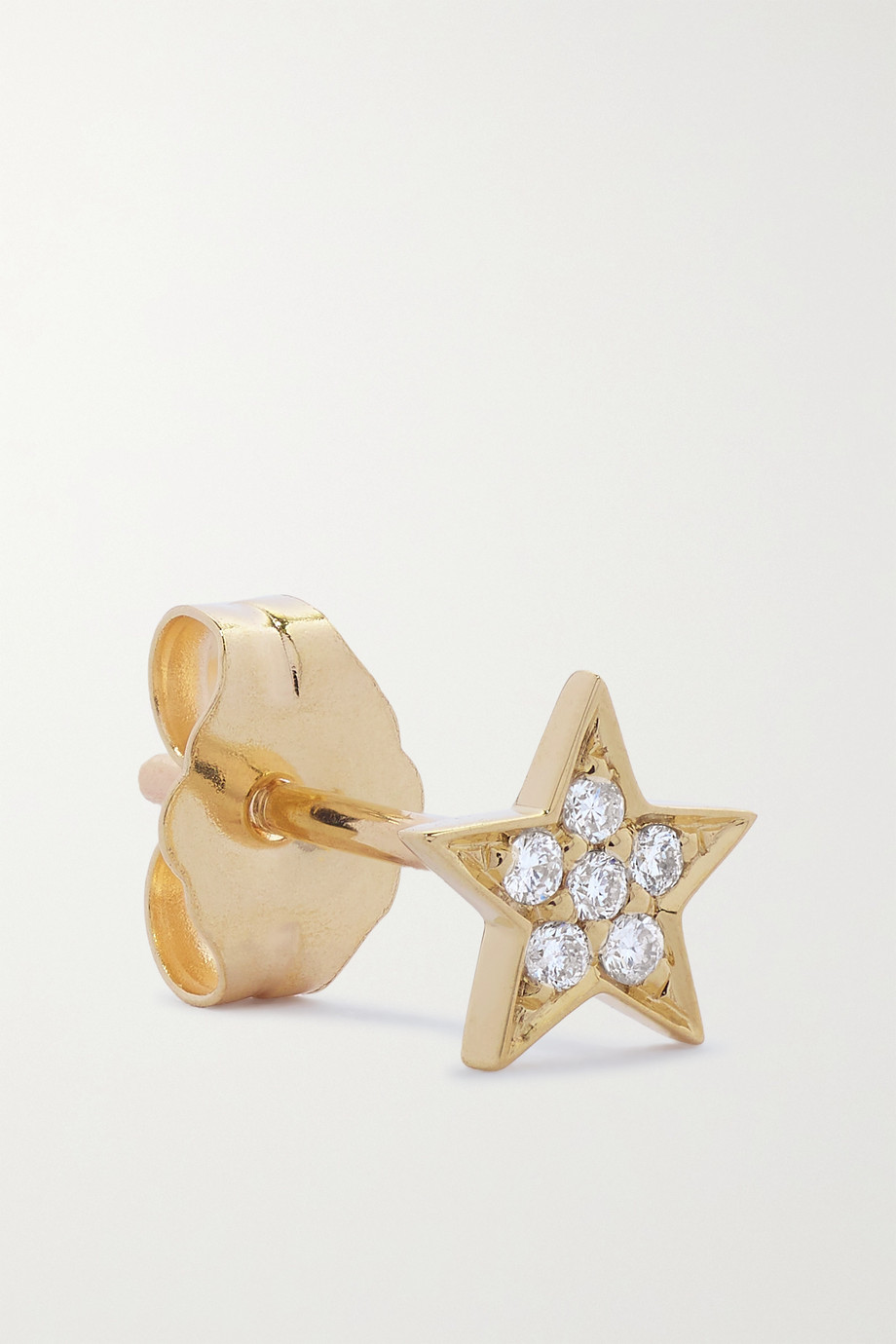 Andrea Fohrman 14-karat gold diamond earring