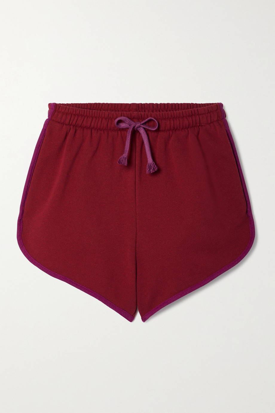 Paradis Perdus + NET SUSTAIN Charlie recycled cotton-blend jersey shorts
