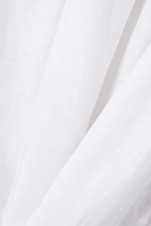 Faithfull The Brand Jupe portefeuille en lin Cavaretta - NET SUSTAIN
