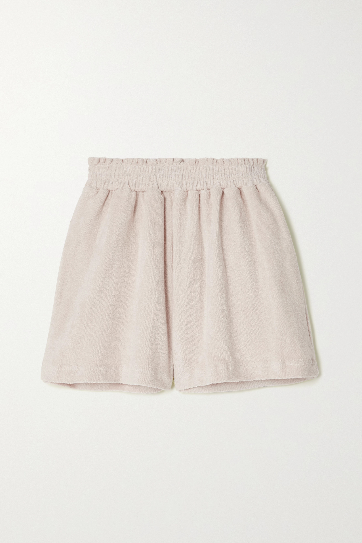Faithfull The Brand + NET SUSTAIN Reggie cotton-terry shorts