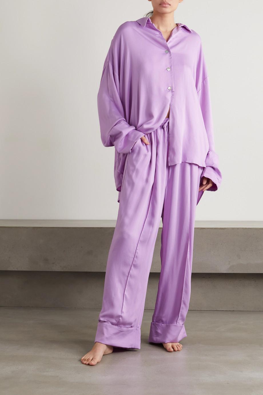 Sleeper Pyjama aus Crêpe