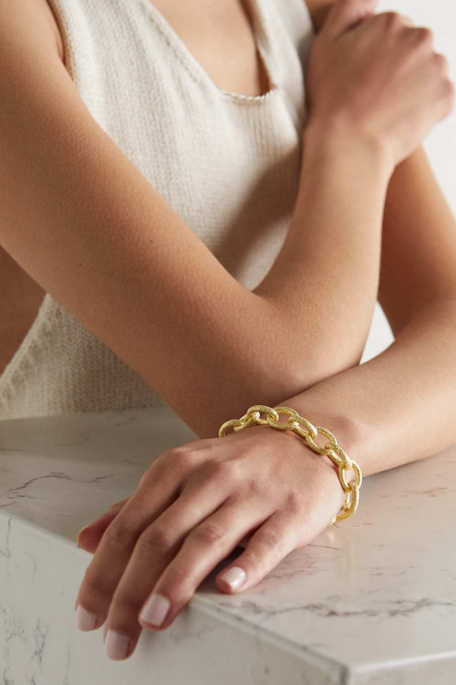 Carolina Bucci Bracelet en or 18 carats (750/1000) Florentine