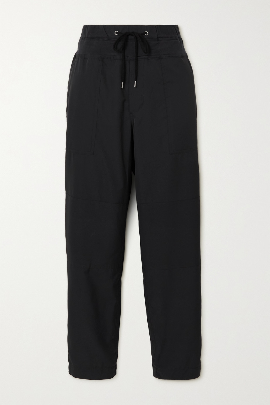 James Perse Cropped woven track pants