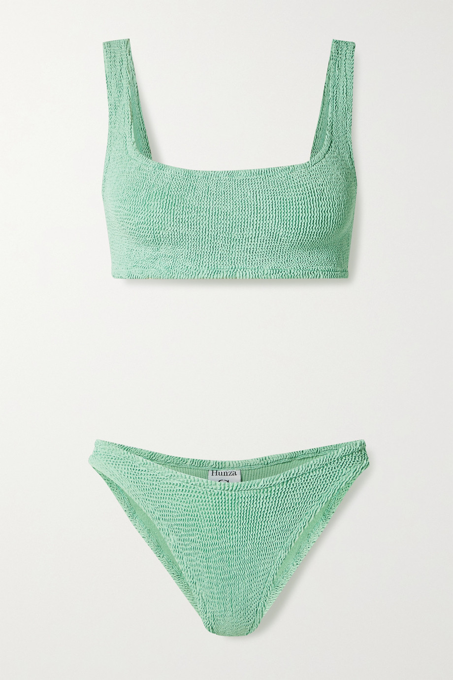 Hunza G Bikini en crépon Xandra - NET SUSTAIN