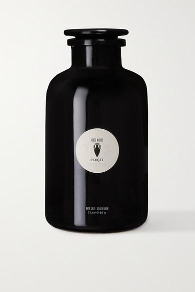 L'objet Bath Salts - Rose Noire, 2 Liters In Colorless