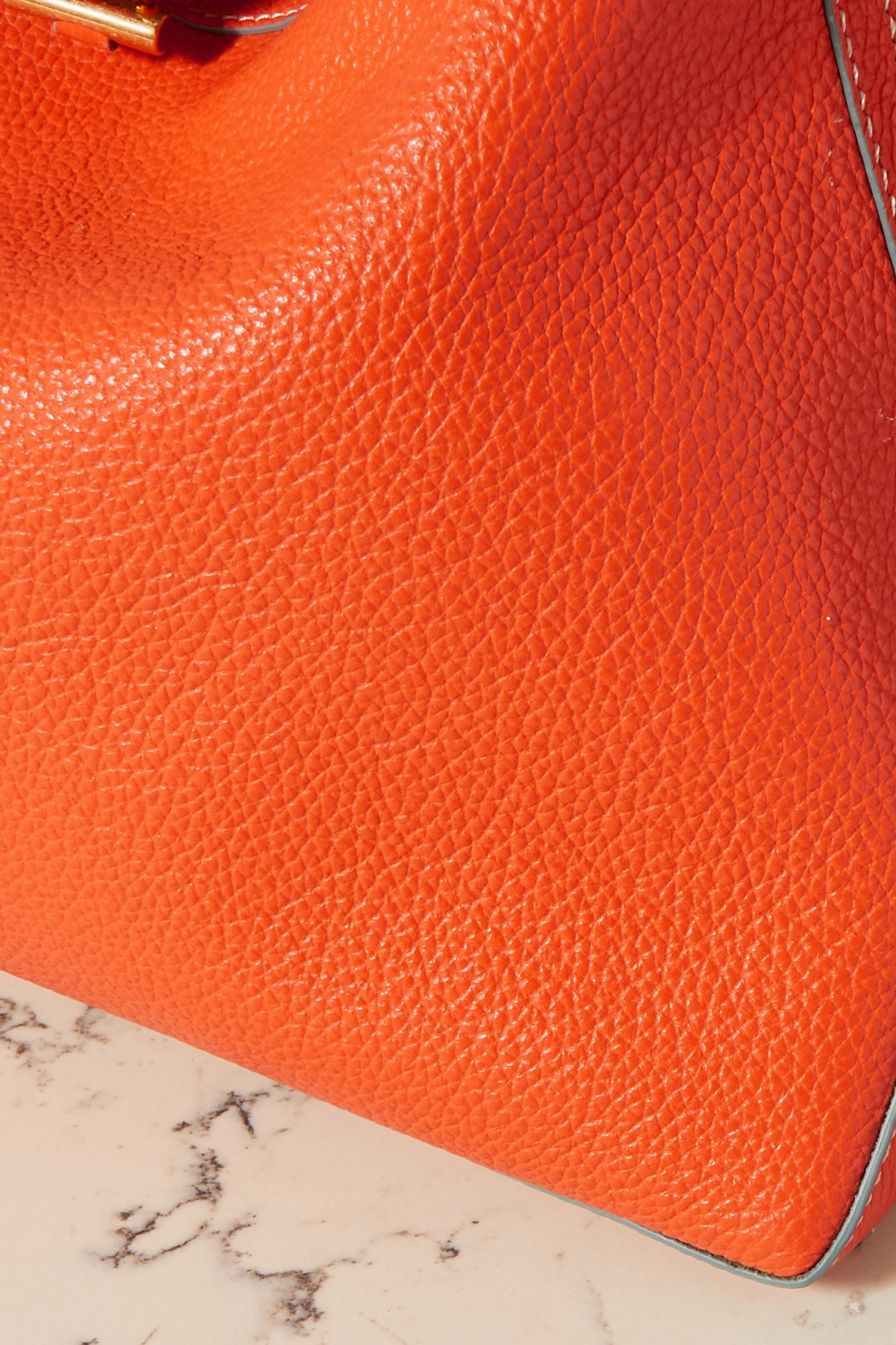 Altuzarra Sac porté épaule réversible en cuir texturé Duo Mini