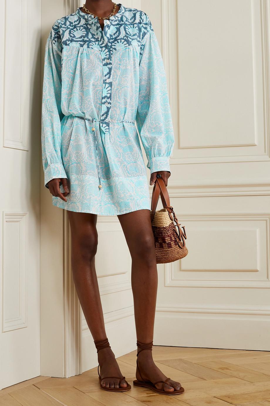 Hannah Artwear Mini-robe en voile de coton imprimé Goa - NET SUSTAIN