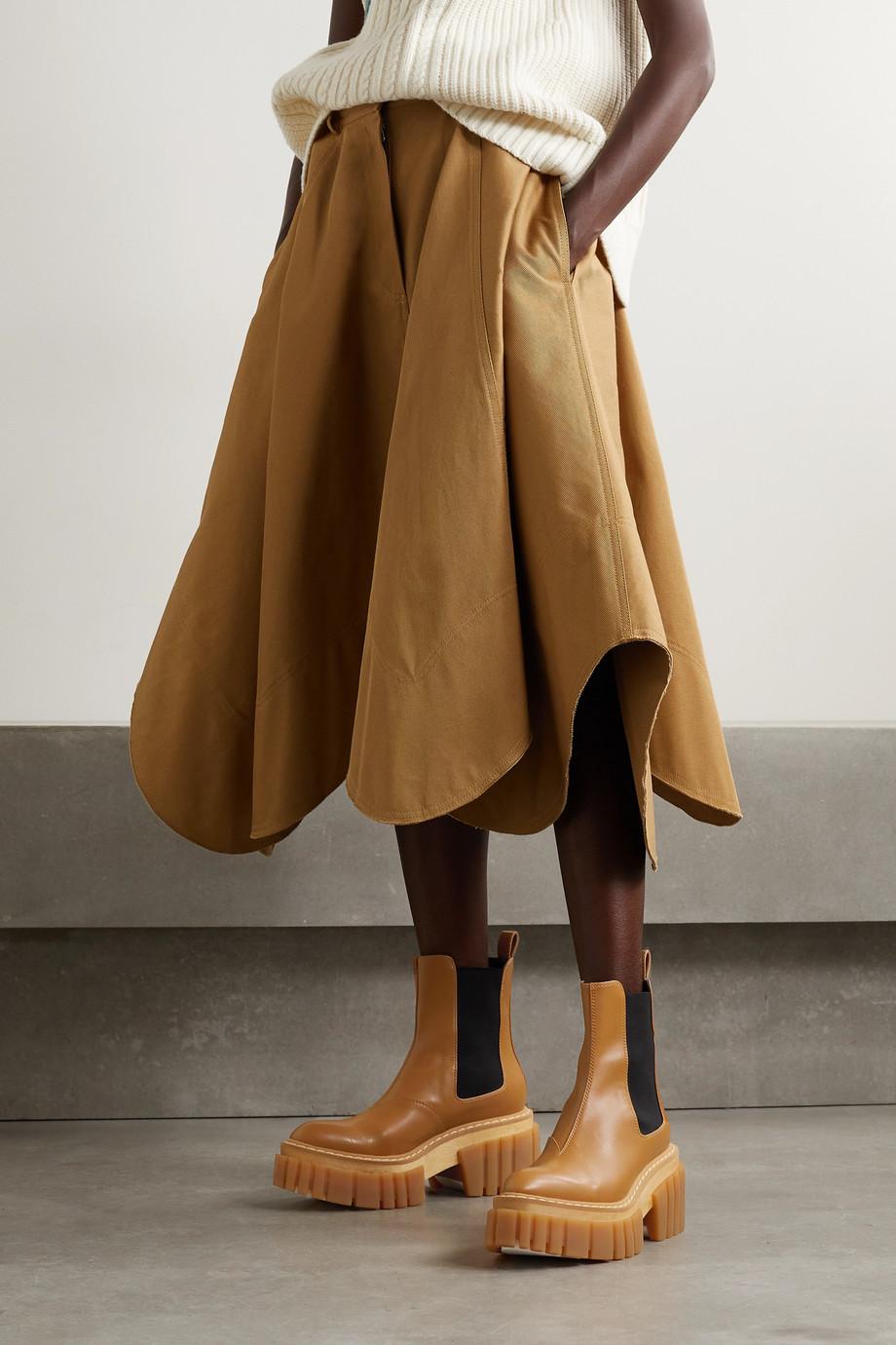 Stella McCartney Emilie Chelsea Boots aus Kunstleder mit Plateau