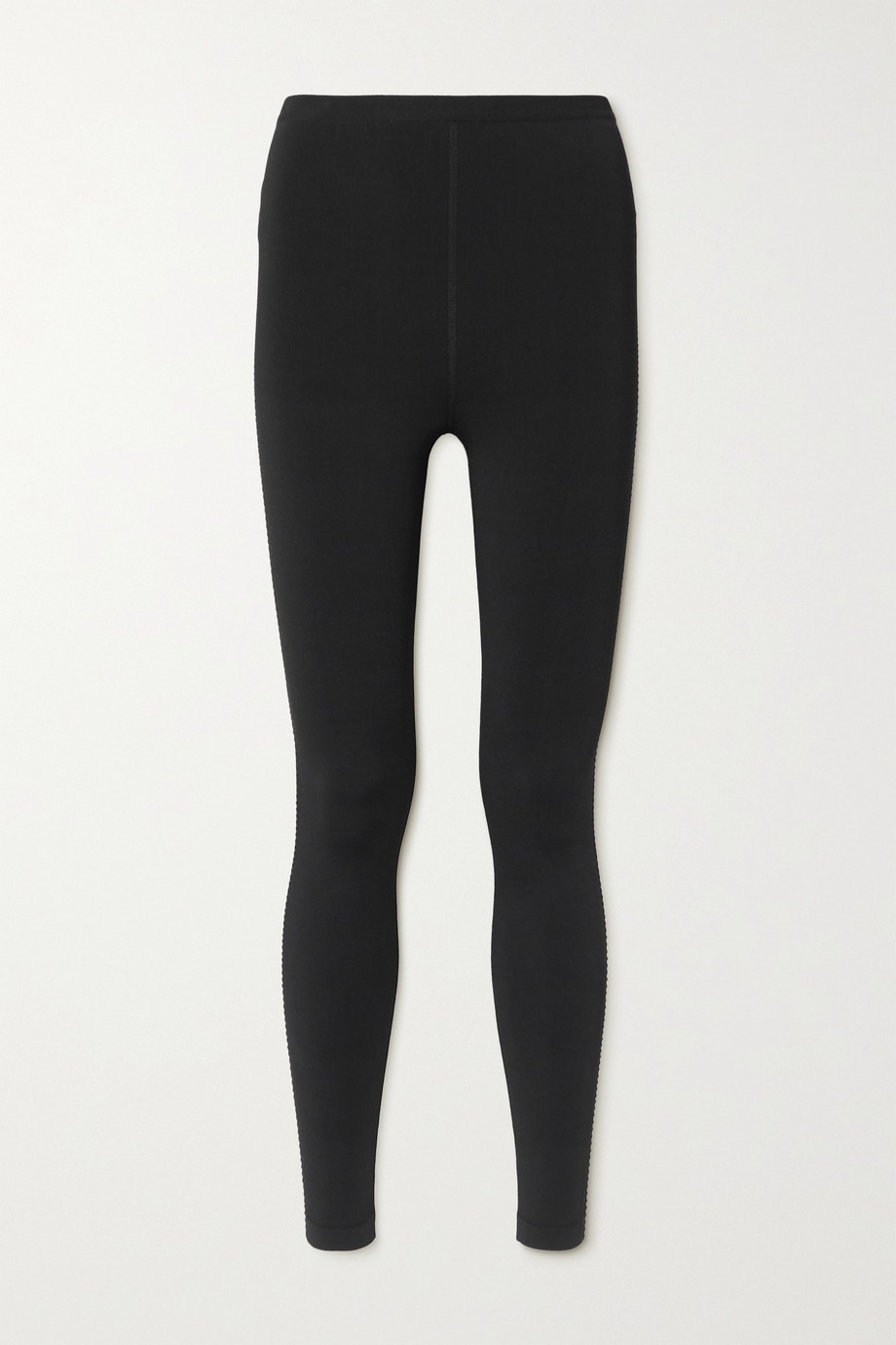 Alaïa Legging en jersey technique à finitions en résille Relax