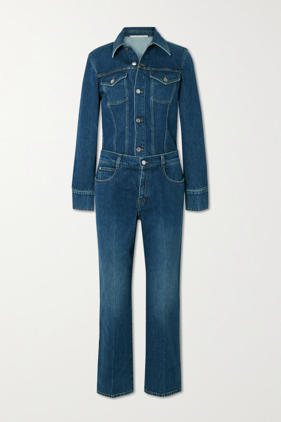 Stella McCartney Combi-pantalon en jean biologique - NET SUSTAIN