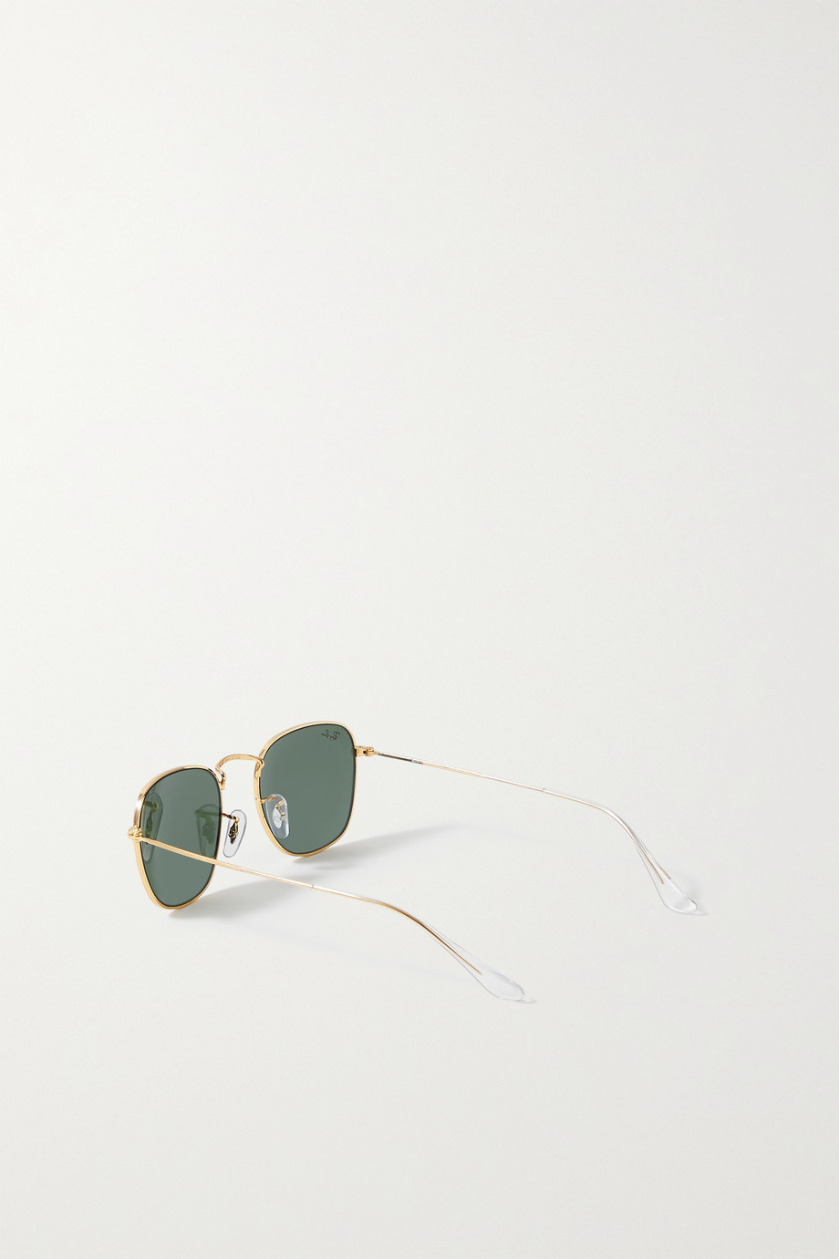 Ray-Ban Frank square-frame gold-tone sunglasses