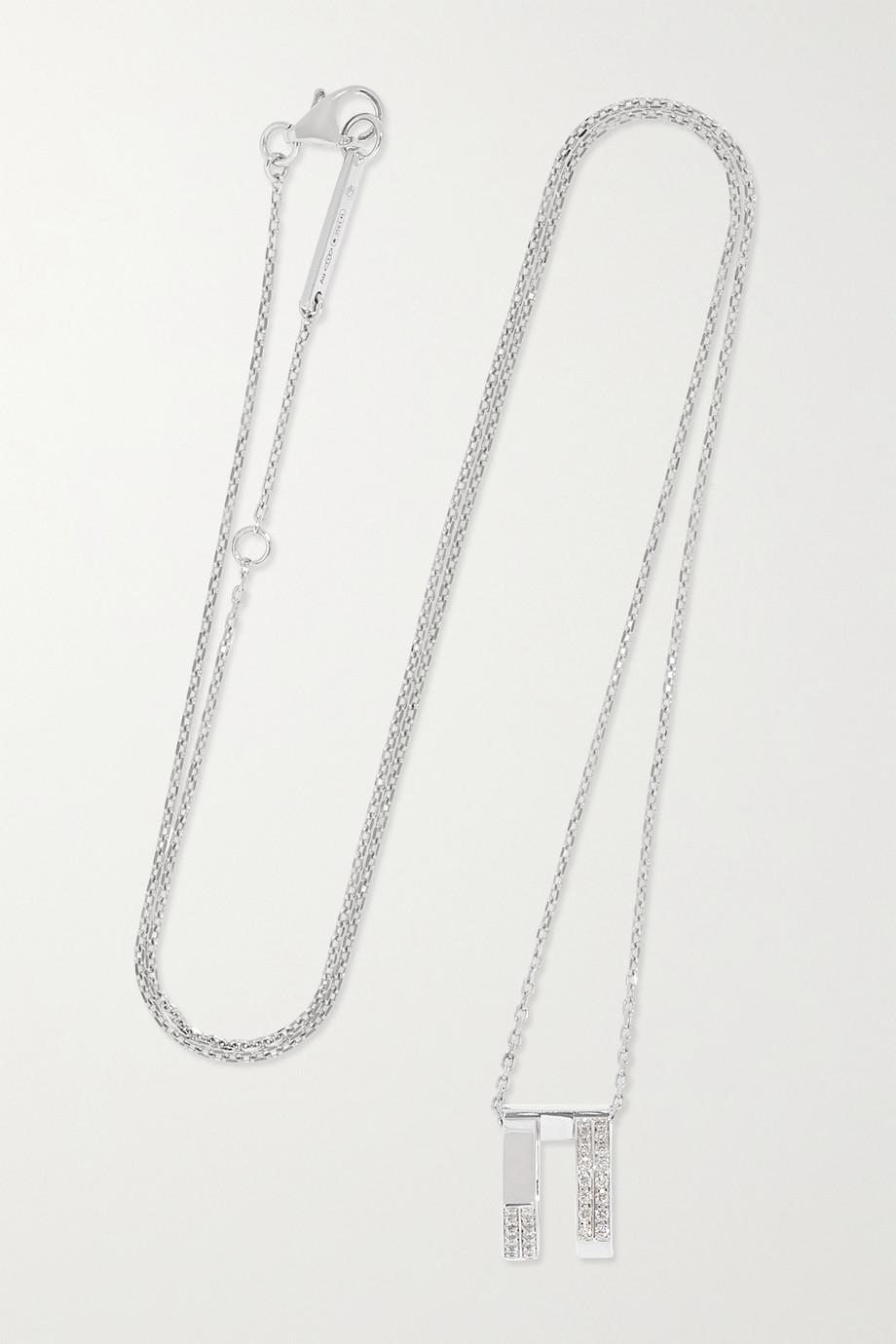 Repossi Antifer Kette aus 18 Karat Weißgold mit Diamanten