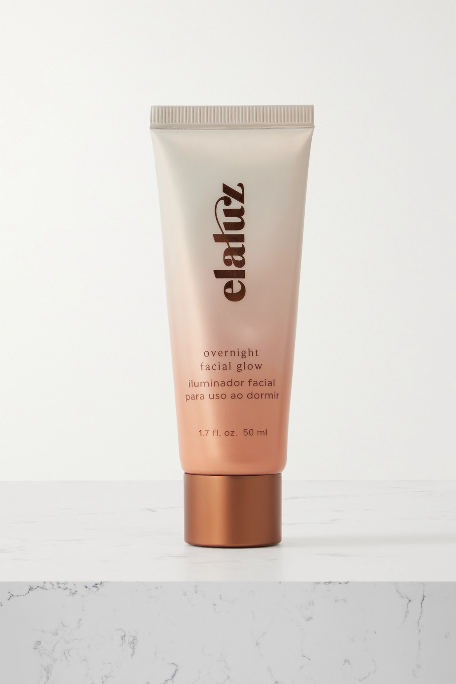 Elaluz Overnight Facial Glow, 50 ml – Bräunungscreme