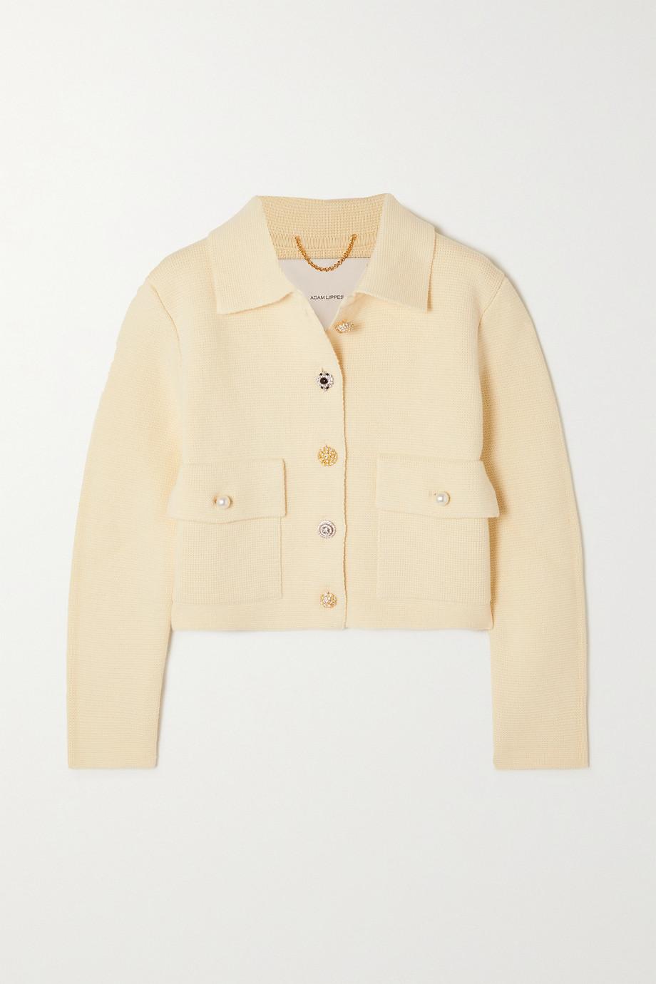Adam Lippes Embellished cotton jacket
