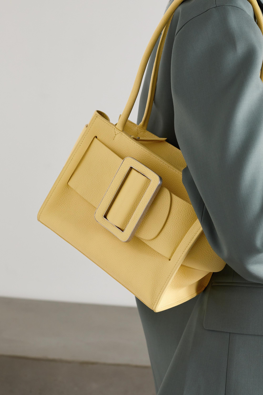 BOYY Bobby Soft 23 buckled textured-leather shoulder bag