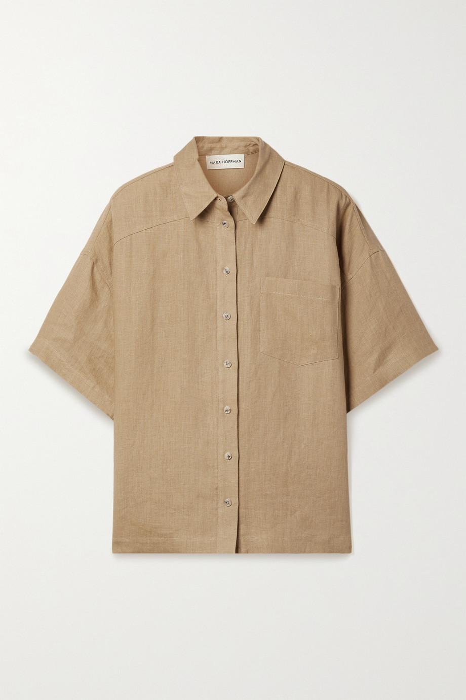 Mara Hoffman Auberon hemp shirt