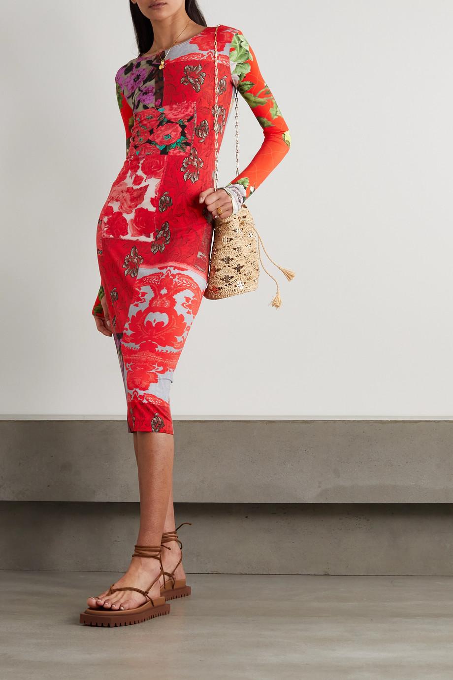 Preen by Thornton Bregazzi Gretal floral-print stretch-crepe dress
