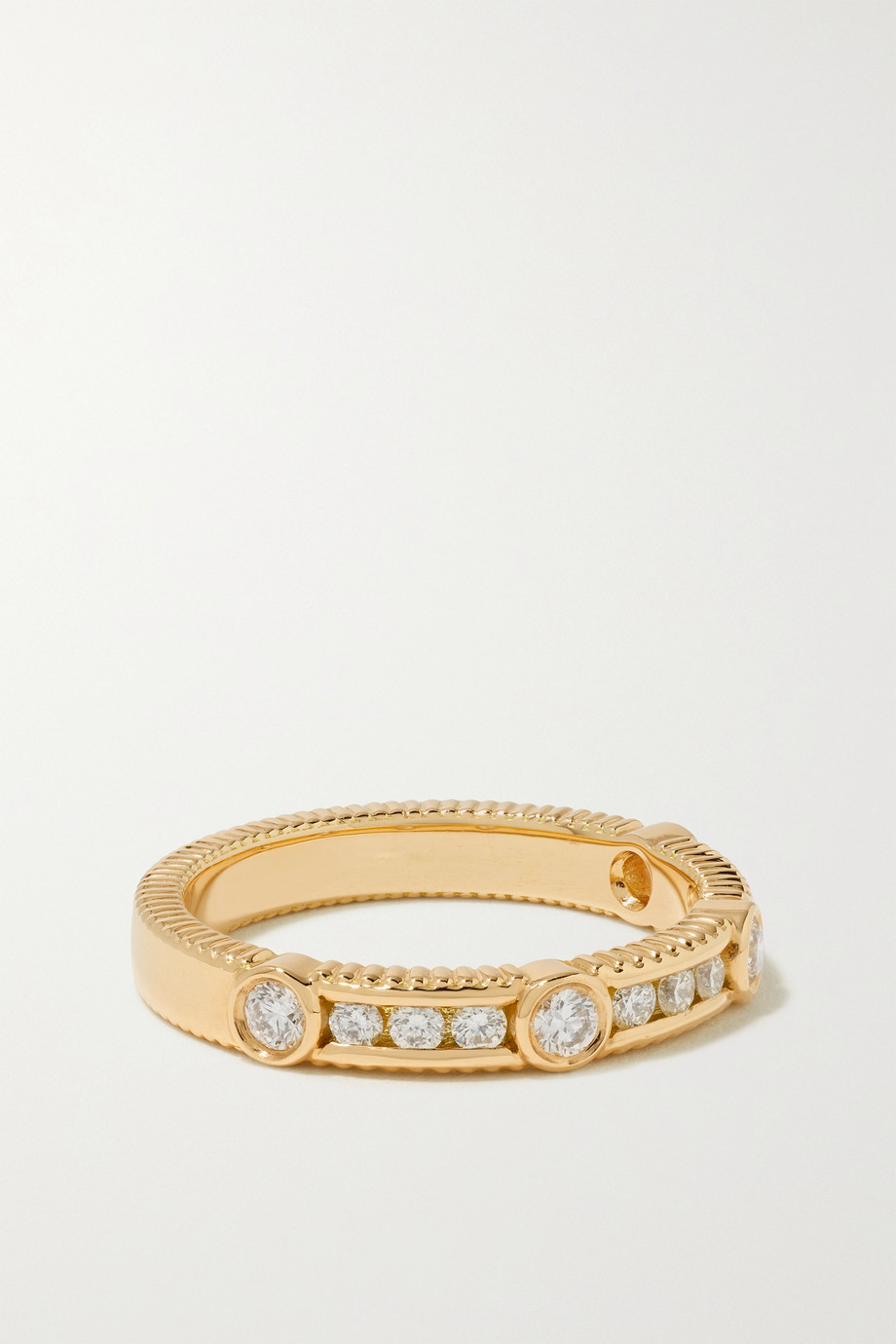 Viltier Rayon 18-karat gold diamond ring