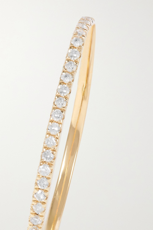 STONE AND STRAND Ring aus Gold mit Diamanten