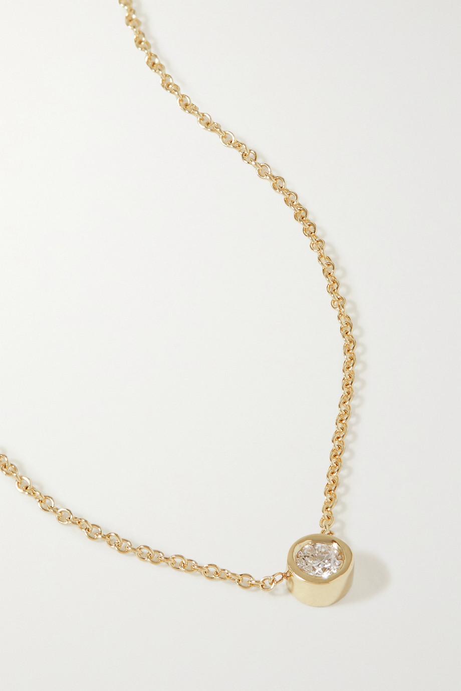 STONE AND STRAND Kette aus Gold mit Diamant