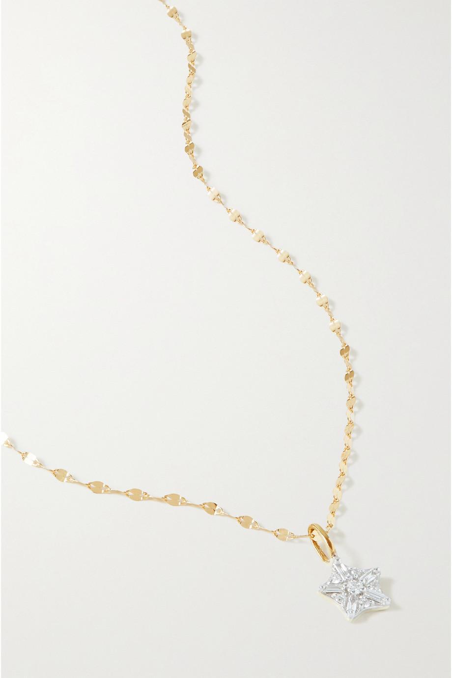 STONE AND STRAND Starbright Kette aus Gold mit Diamanten