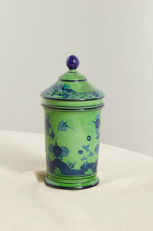 Ginori Pot d'apothicaire en porcelaine