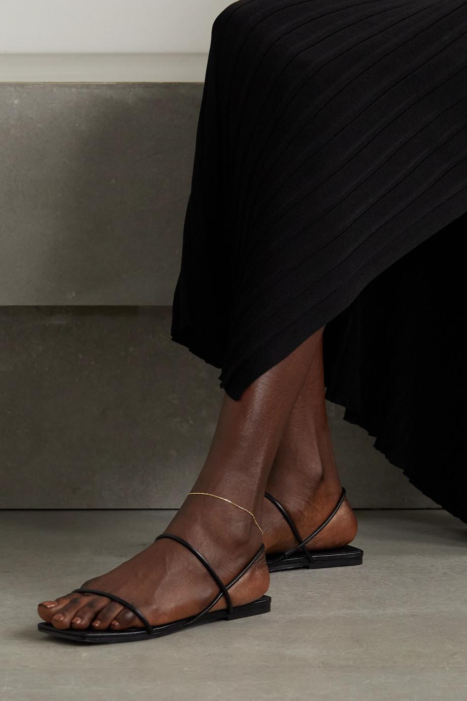Loren Stewart Baby Fig gold anklet