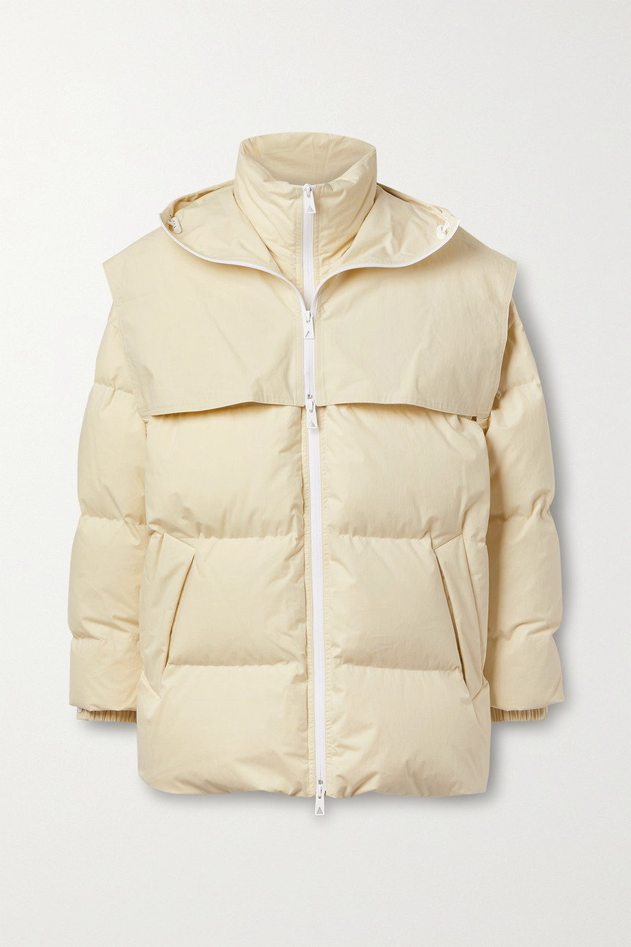 Bottega Veneta Hooded quilted cotton down jacket