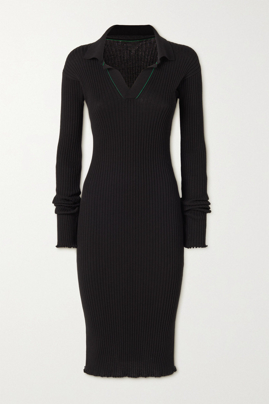Bottega Veneta Ribbed cotton dress