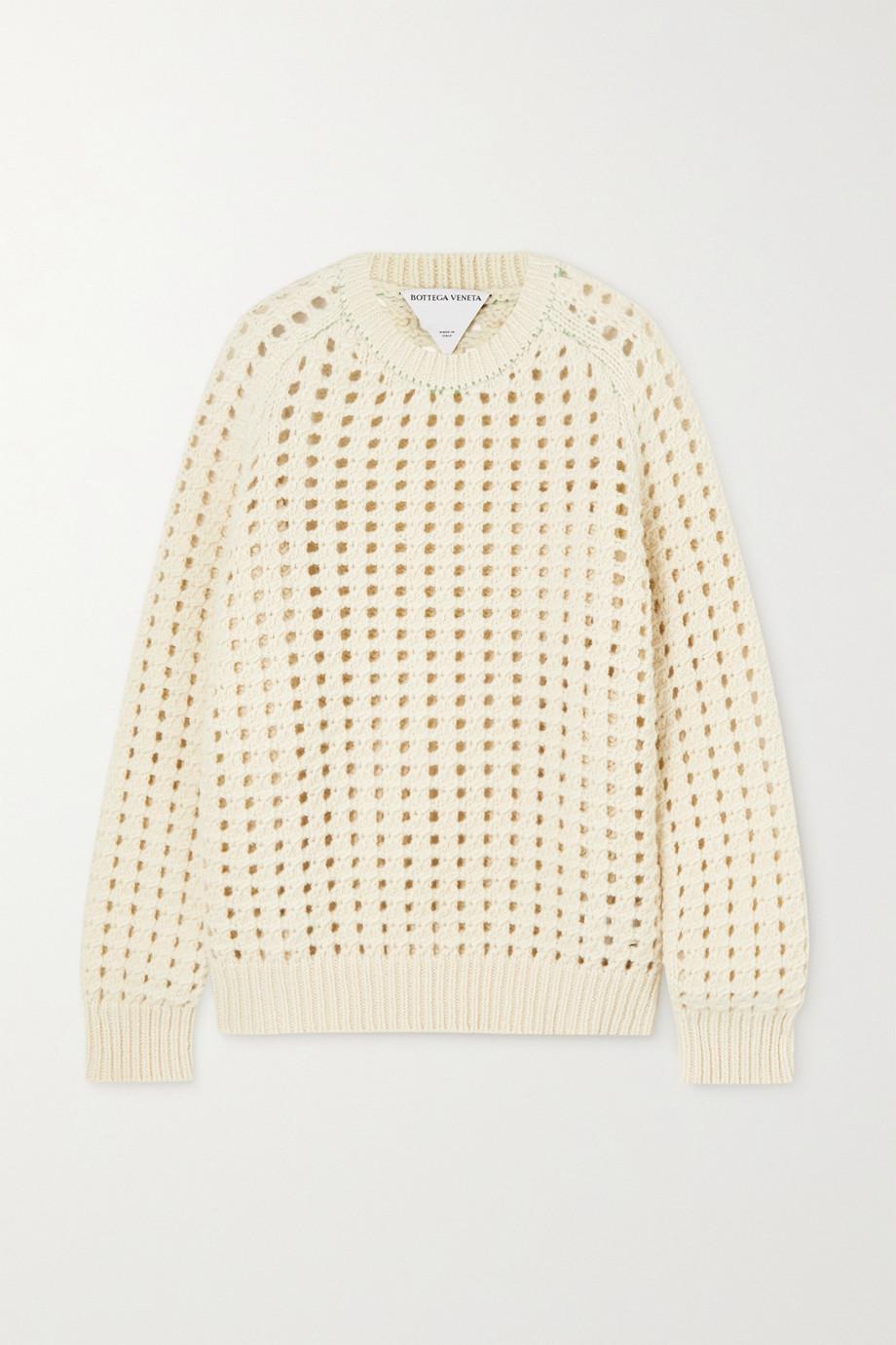 Bottega Veneta Open-knit wool sweater