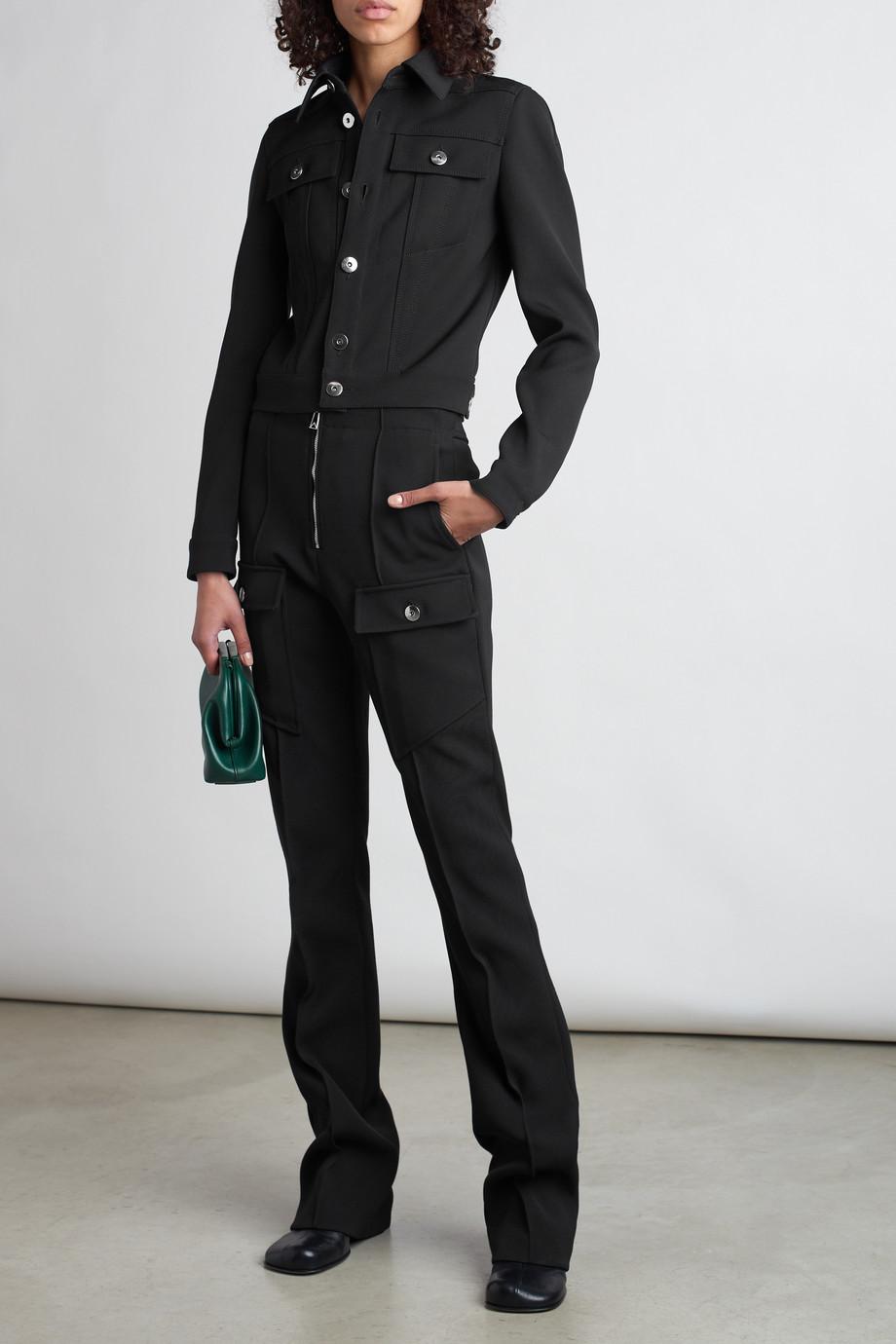 Bottega Veneta Wool-blend flared pants