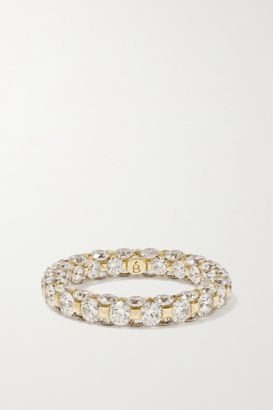 Boghossian Merveilles Eternity 18-karat gold diamond ring