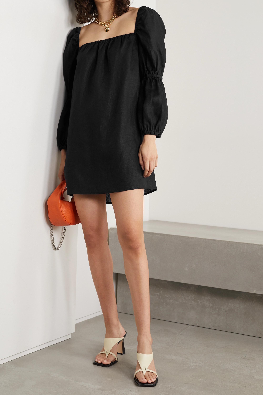 Reformation Jerri linen mini dress