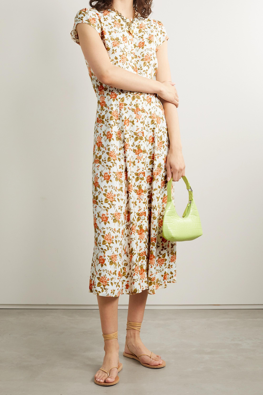Reformation Fauna floral-print crepe midi dress