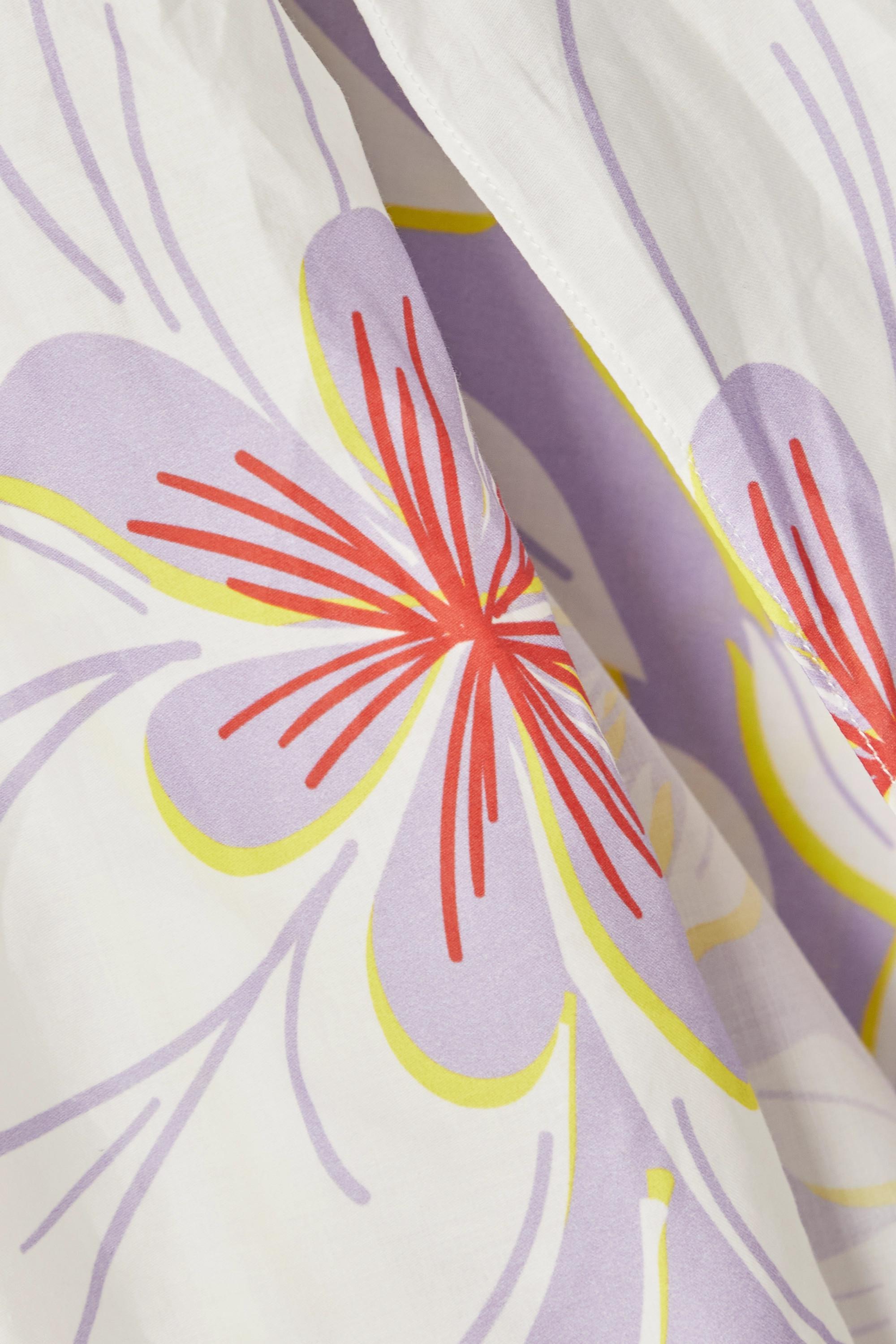 Racil Paréo en voile de coton à imprimé fleuri