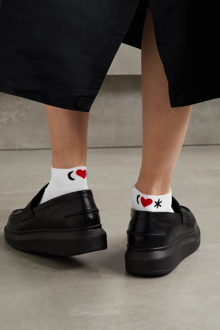 Alexander McQueen Socken aus Jacquard aus einer Baumwollmischung