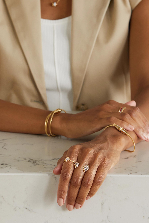 Boucheron Serpent Bohème Ring aus 18 Karat Gold mit Diamanten