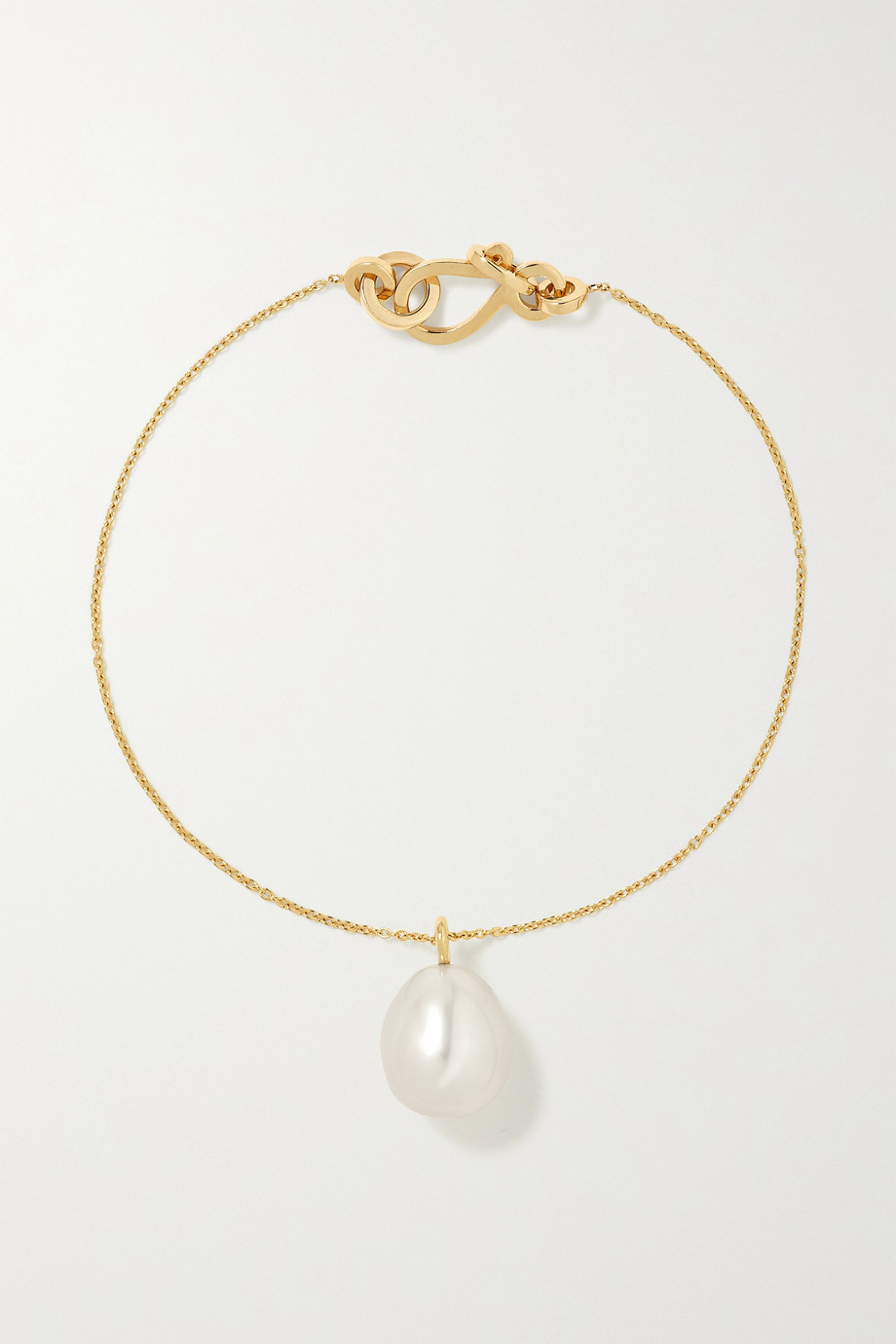 Sophie Bille Brahe Bracelet en or 14 carats (585/1000) et perle L'Eau