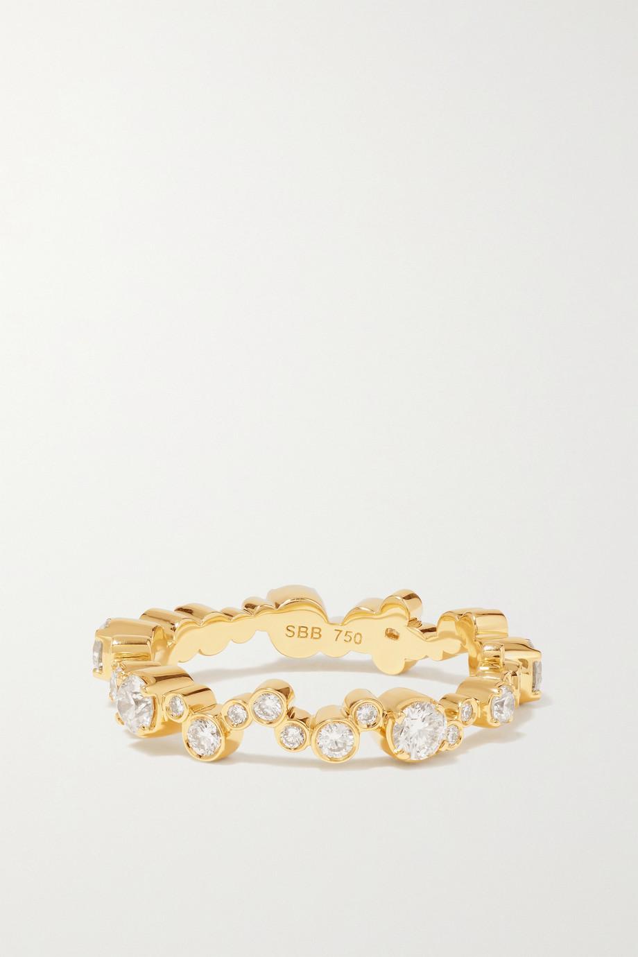 Sophie Bille Brahe Ensemble Splash 18-karat gold diamond ring