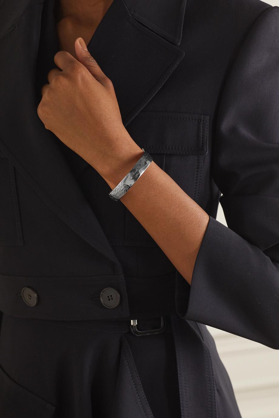Alexander McQueen Bracelet argenté
