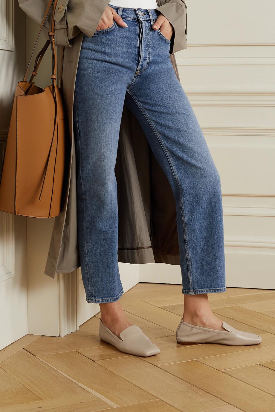 Porte & Paire Loafers aus Leder