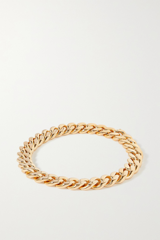 Bottega Veneta - Gold-plated silver necklace