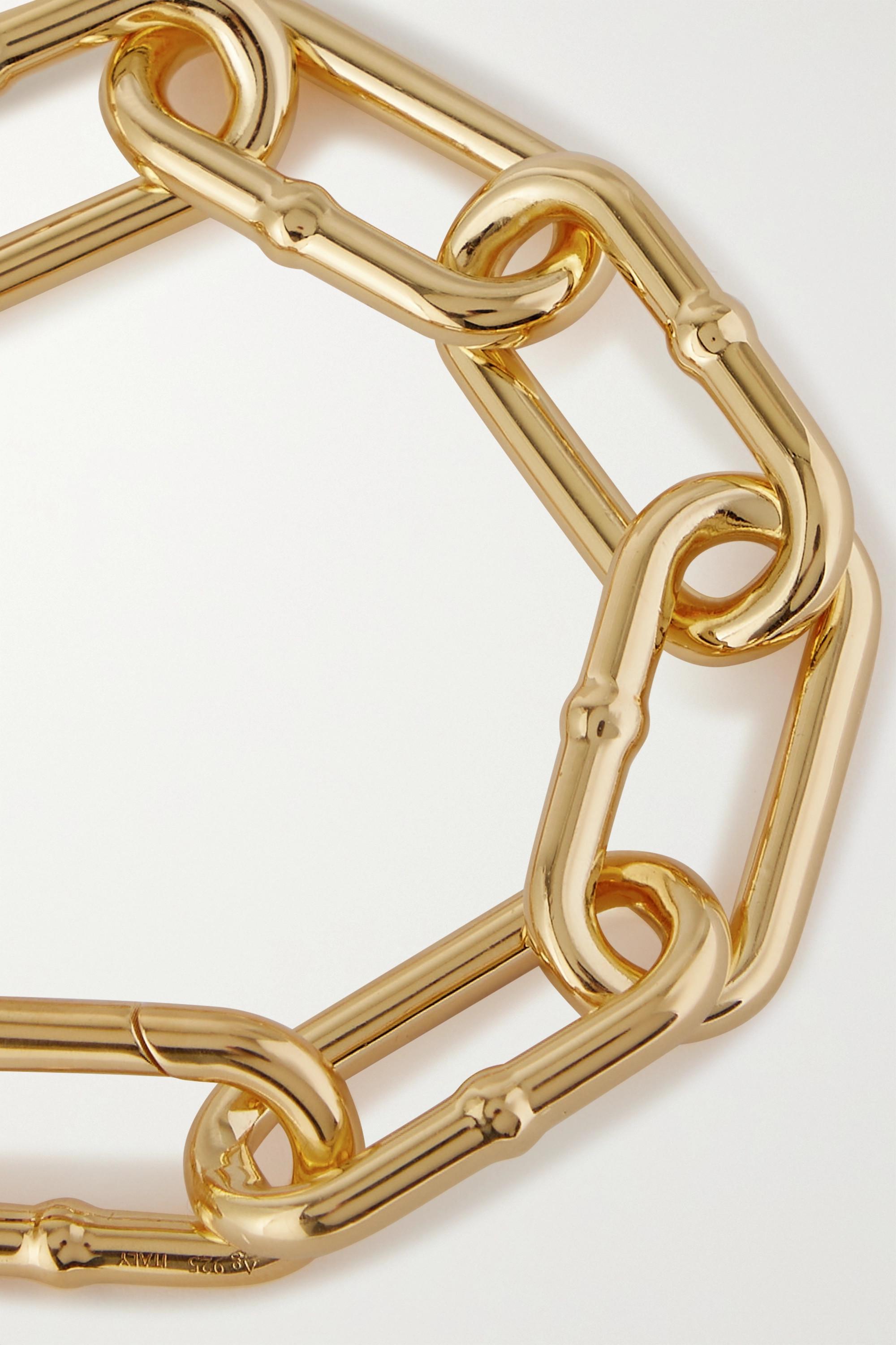 Bottega Veneta Bracelet en plaqué or
