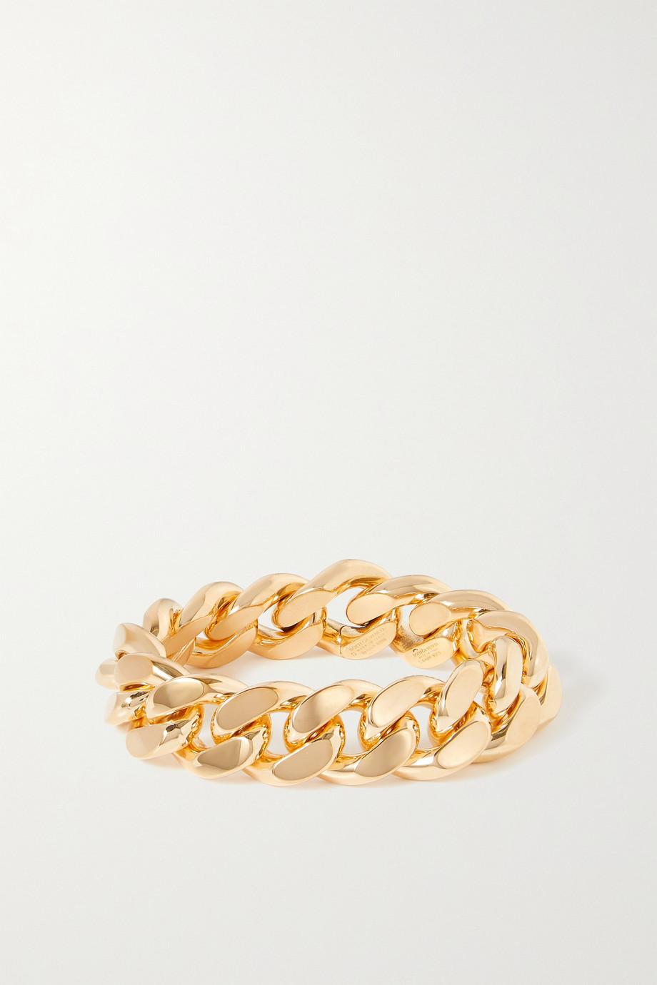 Bottega Veneta Armband aus vergoldetem Silber